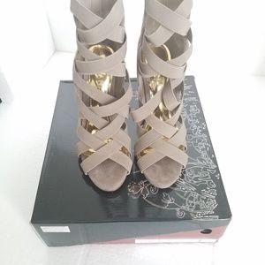 Liliana Nude Strappy Heels